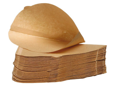 Filtropa Unbleached 100% Natural Coffee Filter Papers Size Four Pack of 100