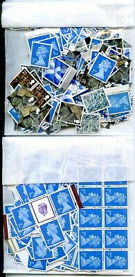 GREAT BRITAIN 2nd CLASS SMALL FORMAT MINT GUMMED STAMPS x1000 FACE VALUE £610!!
