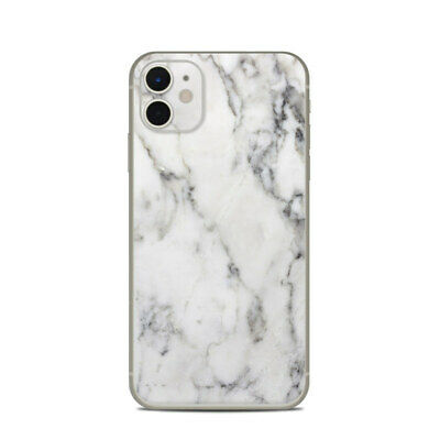 iPhone 11 Skin - White Marble - Sticker Decal
