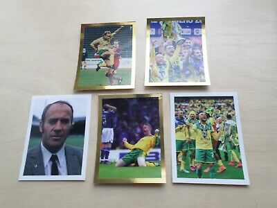 Official Norwich City Football Club - Stickers !!