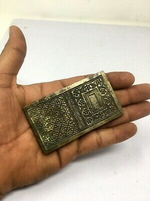 1800's Ancient Old Bronze Hand Engraved Indian Jewelry Multi Design Mold Die