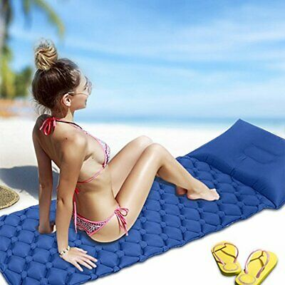Geediar Inflatable Sleeping Pad Airbed Ultralight AirMat Mattress Hiking Camping