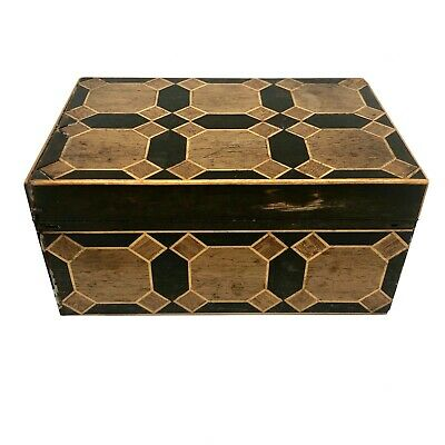 19th Century Inlaid Exotic Hardwood Box