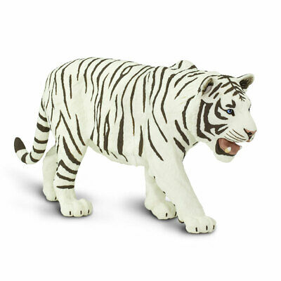 Safari Ltd White Siberian Tiger Toy #112089 Scale 1:10 Wildlife Wonders New
