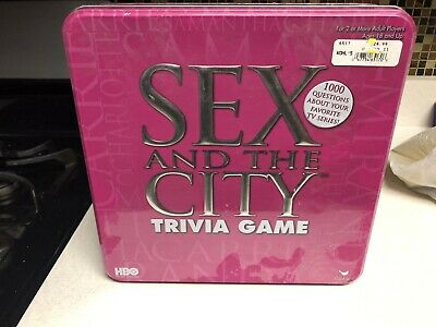 NEW HBO Sex and the City Collectors Trivia Game