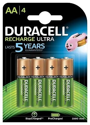 Duracell Recharge Ultra Piles Rechargeables type AA 2500 mAh