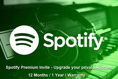 🔥Spotify Premium 12 Months ✅ Upgrade your private account ✅ Instant 🔥 Warranty