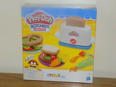 Play Doh Kitchen Creations - Toaster Creations - BRAND NEW