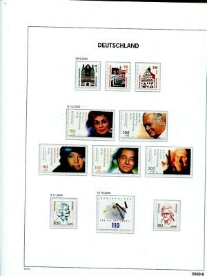 Germany 1991 - 2000 Collection in Davo Illustrated Album