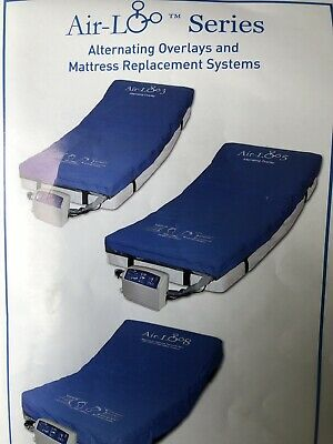 Alternating overlays and mattress replacement system air-Lo mattress