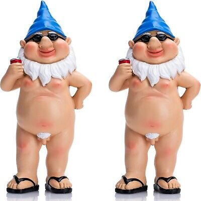 Rude Garden Gnomes Naughty Funny Nude Male Gnome Statue Novelty Gifts for Women