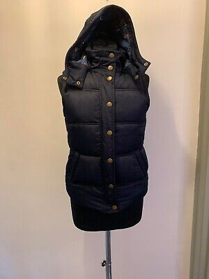 Johnnie B Boden Navy London Print Lining Gilet Body Warmer Age 13-14 Read Descri