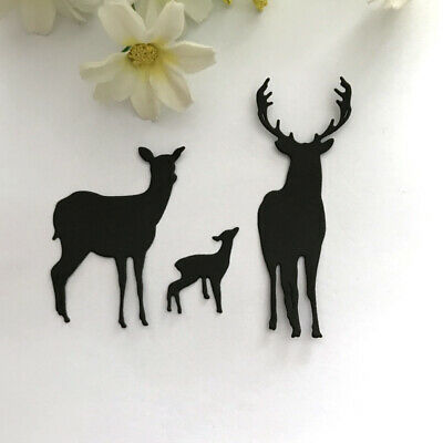 Dixi Crafts Cutting Die DEER FAMILY MD0118 2pcs