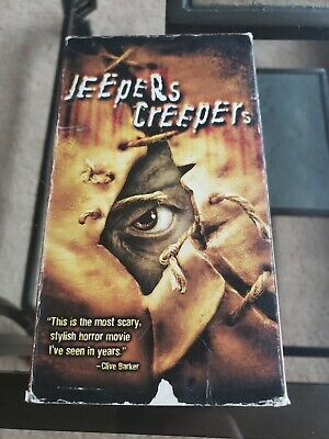 Jeepers Creepers VHS 2002 Gina Philips Justin Long