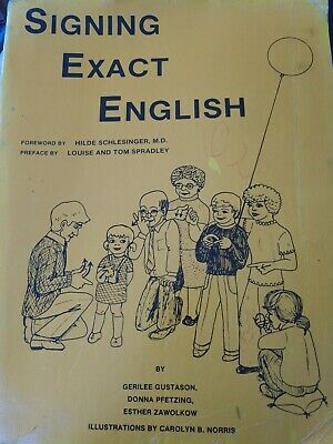 Signing Exact English By Charlie Gustafson Donna Fencing Esther Is