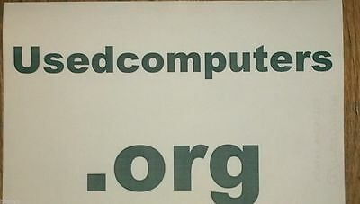 UsedComputers.org Great premium domain name for Used Computers & electronics