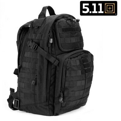 5.11 Tactical. Genuine Rush 24 Black Back Pack - 100% New Genuine