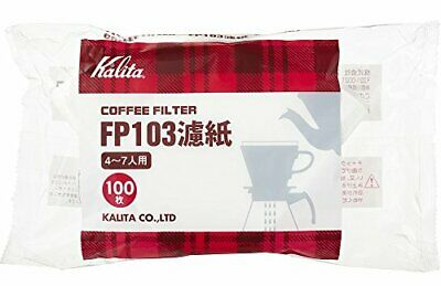 Carita Coffee Filter Fp103 Filter Paper 4 To 7 100 Pieces For People White # 150