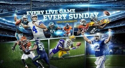 NFL Sunday Ticket MAX Entire 2019 Season Near Instant Delivery & Warranty