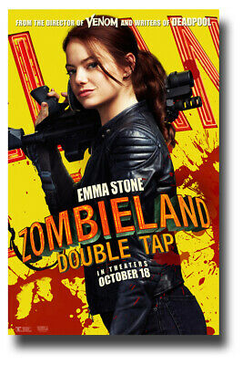 "Emma Stone Poster 11""x17"" for Zombieland 2 Double Tap SameDay Ship from USA"