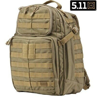 5.11 TACTICAL. GENUINE RUSH 24 Sandstone BACK PACK - 100% NEW GENUINE