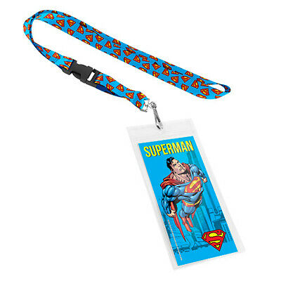SUPERMAN Lanyard Double sided Print Swivel Hook with Buckle Easter Gift 2020