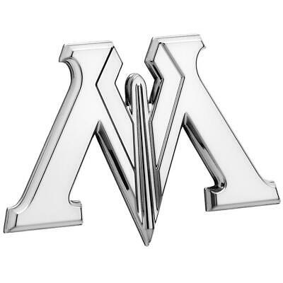 Ministry of Magic 3D Chrome Automotive Decal Sticker Badge Emblem Christmas Gift