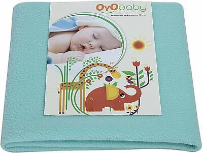 BABY  Sheet  New-Born Babies Waterproof Bed Protector (Sea Green, Medium RK