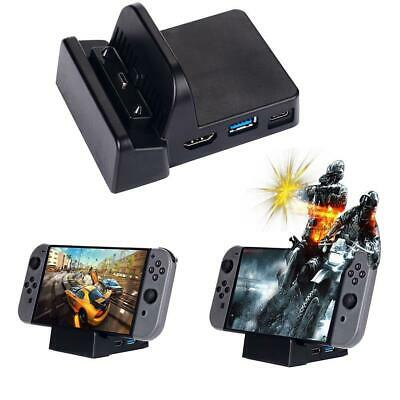Nintendo Switch Dock Station Case Replacement Portable Stand Base Game Console U