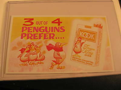 1969 Topps Wacky Packages Ads Proof Card Kook