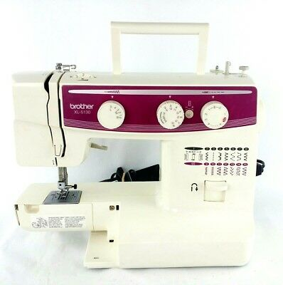 BROTHER Model XL-5130 Mechanical Sewing Machine Lightweight Portable 30-Stitch