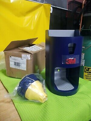 3M One Touch Pro Earplug Dispenser 391-0000, Blue Wall or Table Mounting 45jw40
