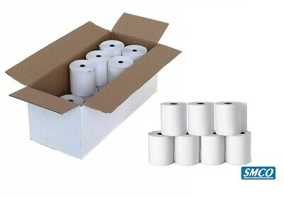 20 ROLLS CASIO 140CR Paper Rolls CASH REGISTER RECEIPT Non Thermal TILL By SMCO