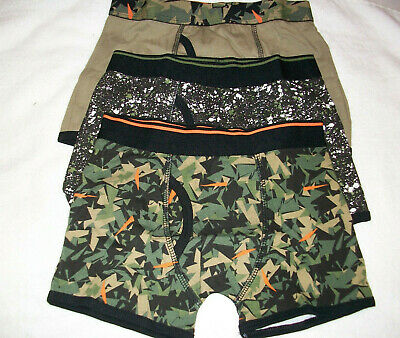 Three (3) Pairs Pants Mixed Multi Trunk Fit Boxer Shorts Briefs Age 4-5  New