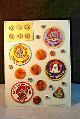 #5. 21 Antique Vintage 1983 Decoupage Studio Buttons Blanka Manas The Circus