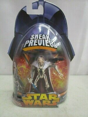 2005 Hasbro STAR WARS REVENGE OF THE SITH *GENERAL GRIEVOUS*  (SEALED)