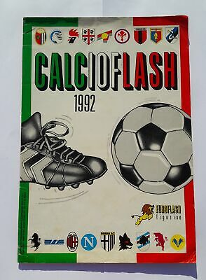 Calcio Flash 1992 Album Blank Stickers Euroflash