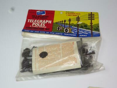 AIRFIX OO/HO MODEL RAILWAY KIT Telegraph Poles Unmade Bagged Rare Type 1 Header