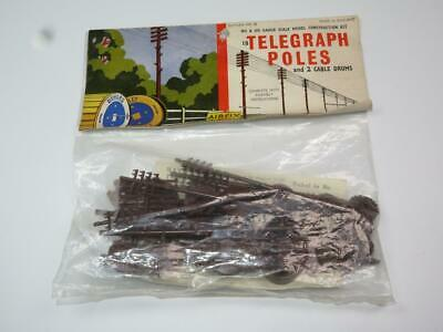 AIRFIX OO/HO MODEL RAILWAY KIT Telegraph Poles Unmade Bagged Rare Type 2 Header