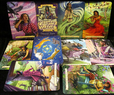 New Open For Pics ~ Everyday Witch Oracle Cards & Book For Answers & Inspiration