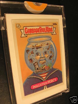 1987 Topps UK Garbage Pail Kids Unpublished Proof #349A