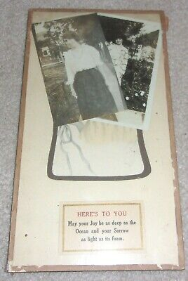 VINTAGE 20s30s40s? GLASS FRAMED PHOTOS WOMAN DEATH FUNERAL REMEMBRANCE ESTATE