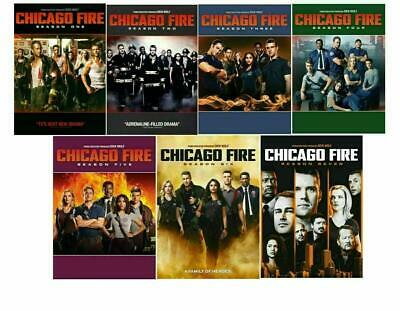 Chicago Fire: The Complete Series Season 1-7 DVD 3 Bundle new