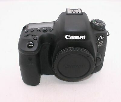 Canon EOS 6D Mark II Digital SLR Camera Body 26.2 MP Shutter Count 60