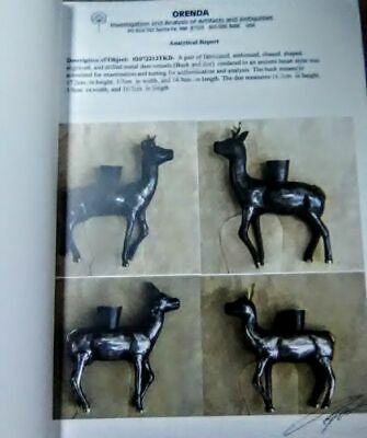 Inca-Silver-and-Gold-Deer-Cups-with-Report