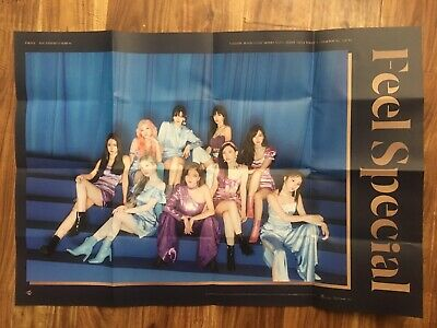 Twice [Feel Special] 8th Mini Album POSTER C VER. ONLY