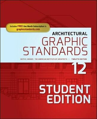 Architectural Graphic Standards, 12th Edition  (Instant download)