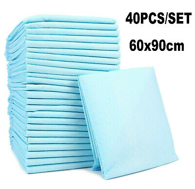 Disposable Incontinence Bed Pads Protection Sheets 60 x 90 cm (40 Sheets)