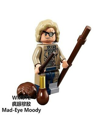 Lego fit mini figures Harry Potter Mad eye Moody compatible with Lego