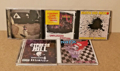 5 x Alt & Indie Rock Albums bundle, collection, job lot All in Good condition